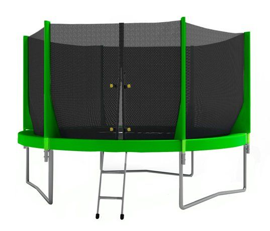 Батут OPTIFIT JUMP 6 FT зеленый